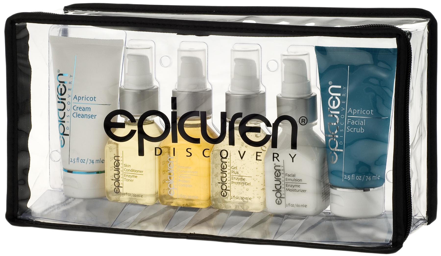 Epicuran facial products